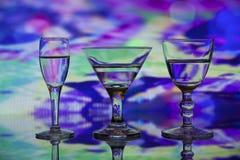 Красочное трио Стоковая Фотография