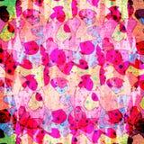 Красочное цифровое backgroud конспекта искусства Стоковые Изображения RF