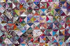 Красочное шальное лоскутное одеяло для продажи, остров Бали, Индонезия Стоковые Изображения