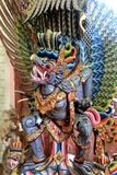 Красочное Garuda - балийская мифическая тварь Стоковое Фото