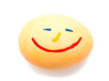 Красочное handmade украшенное пасхальное яйцо Стоковые Изображения