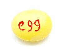 Красочное handmade украшенное пасхальное яйцо Стоковые Фотографии RF