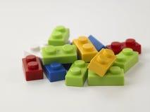 Красочное lego Стоковые Изображения