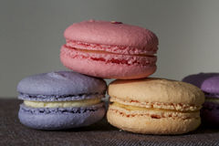 Красочное Macarons Стоковые Изображения