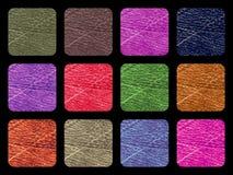 Красочной предпосылка текстурированная палитрой вектор Стоковое Фото