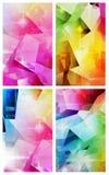 Красочные абстрактные предпосылки Стоковое Изображение