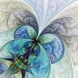 Красочные абстрактные цветок или бабочка Стоковое Фото