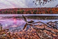 Красочные ландшафты пейзажа падения стоковая фотография rf