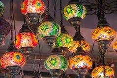Красочные арабские laterns Стоковое Изображение RF