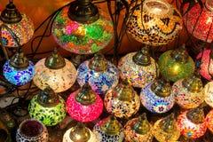 Красочные арабские laterns Стоковые Изображения