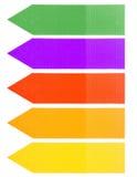 Красочные бирки и ярлыки Стоковая Фотография RF