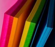 Красочные бумаги Стоковая Фотография RF