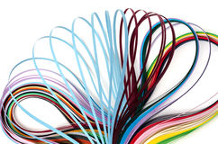 Красочные бумажные филигранные прокладки Стоковые Фотографии RF