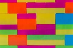Красочные блоки зигзага, игрушка детей Стоковое Изображение RF