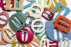 Красочные винтажные пряжки пояса 2 Стоковые Изображения RF