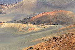 Красочные вулканические конусы Стоковая Фотография RF