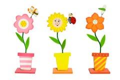 Красочные вымыслы цветков Стоковая Фотография RF