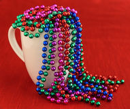 Красочные гирлянды шарика праздника стоковые изображения rf