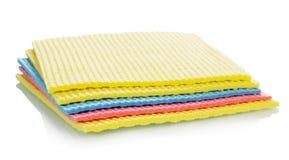 Красочные губки кухни чистки Стоковые Изображения