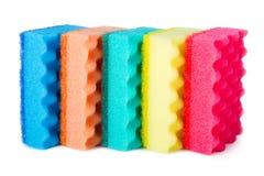 Красочные губки Стоковое Изображение RF