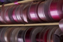 Красочные ленты и лента Стоковое Фото
