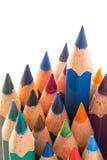 Красочные деревянные карандаши Стоковые Изображения