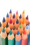 Красочные деревянные карандаши Стоковая Фотография RF