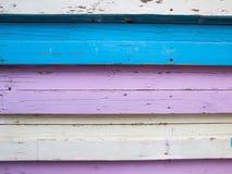 Красочные деревянные доски Стоковая Фотография