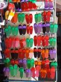 Красочные деревянные Clogs Стоковая Фотография RF