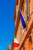 Красочные здания Моденаа Стоковая Фотография
