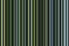 Красочные зеленые линии и формы картина, предпосылка Стоковая Фотография RF