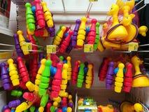 Красочные игрушки для детей - боулинга Стоковое Изображение RF