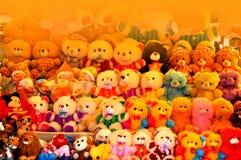 Красочные игрушки медведя детей Стоковое фото RF