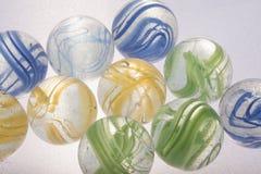 Красочные игрушки мраморов Стоковая Фотография RF