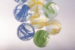 Красочные игрушки мраморов Стоковое Фото