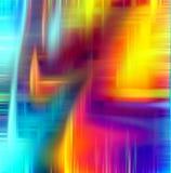 Красочные линии абстрактные предпосылка и текстура Стоковое Изображение