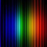 Красочные линии предпосылка стены Стоковая Фотография