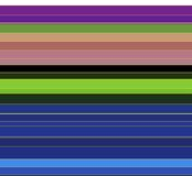 Красочные линии, предпосылка Стоковое Изображение