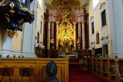 Красочные исторические церков в Австрии стоковое изображение rf