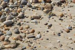 Красочные камни пляжа Стоковые Фотографии RF