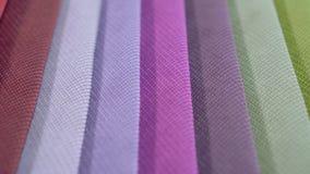 Красочные картины текстурированного конца ткани вверх стоковая фотография rf