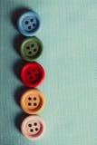 Красочные кнопки Стоковое Изображение RF