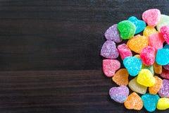 Красочные конфеты куба студня Стоковые Фотографии RF