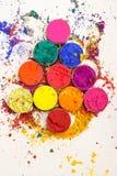 Красочные краски Стоковые Фотографии RF