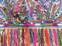 Красочные края - часть красивого handmade ремесла Стоковые Фотографии RF