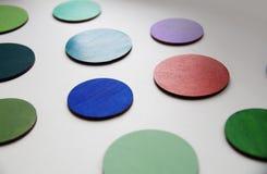 Красочные круги стоковое фото rf