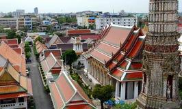 Красочные крыши грандиозного дворца Бангкока Стоковая Фотография RF