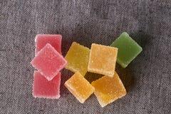 Красочные кубы студня Стоковое Изображение RF