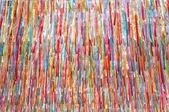 Красочные ленты текстурируют предпосылку стоковое изображение rf