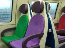 Красочные места на поезде Стоковое Фото